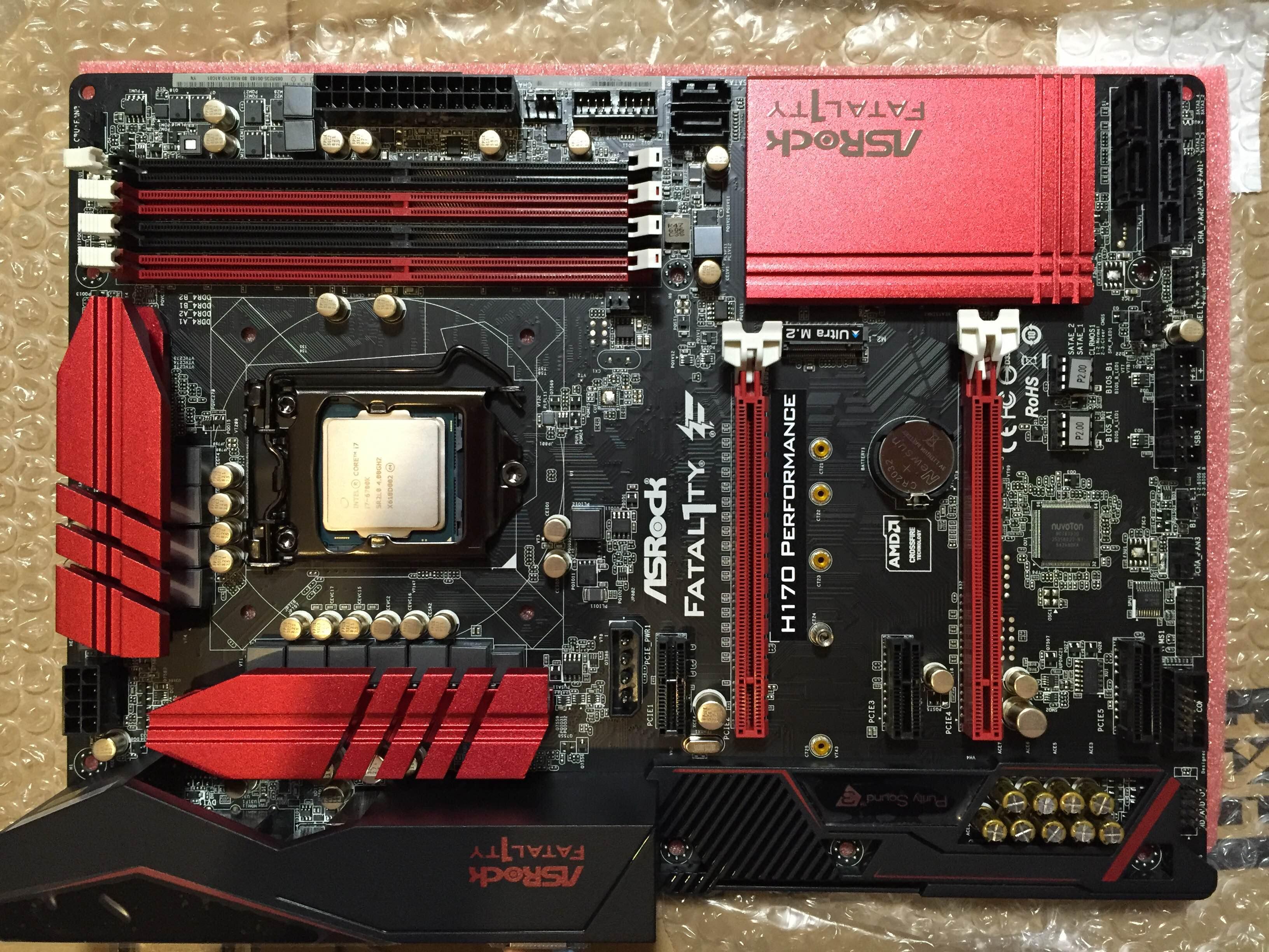 H170 performanceとcore i7-6700k