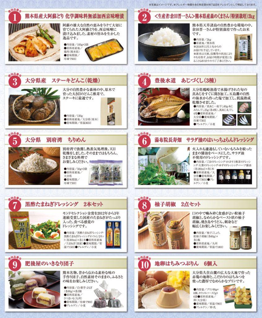 日本コンセプト株主優待商品カタログ