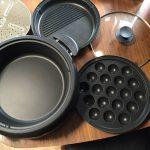 2人暮らし用ホットプレートで鍋も焼肉も!タイガーグリル鍋3.7Lプレート3枚タイプ