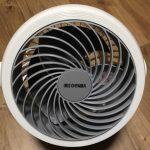 エアコン暖房だけは寒い!安物サーキュレーター購入レビュー。