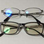 【ブルーライトカット】JINS SCREENの2本目のメガネを購入したので比較してみる