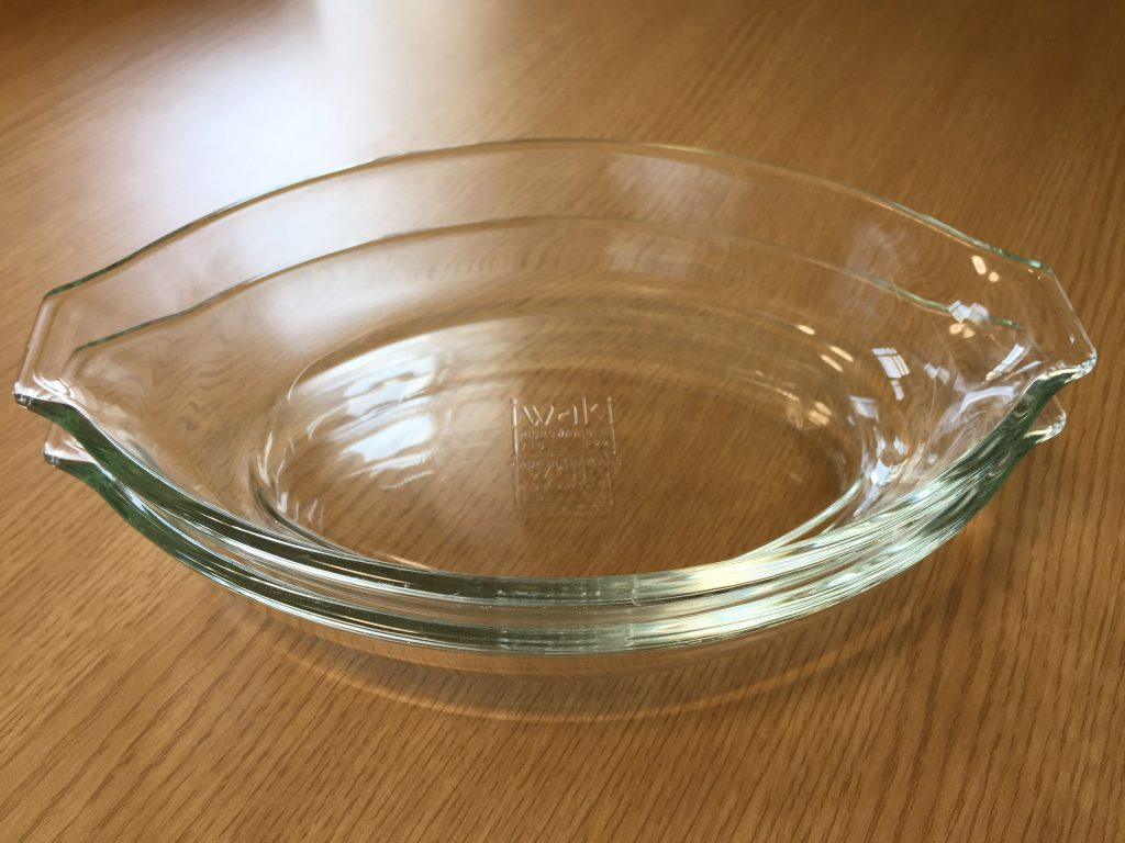 iwaki 耐熱ガラス グラタン皿