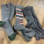 モンベルの『トレッキングソックス』が暖かい!冬の寒さ・冷えの対策に。