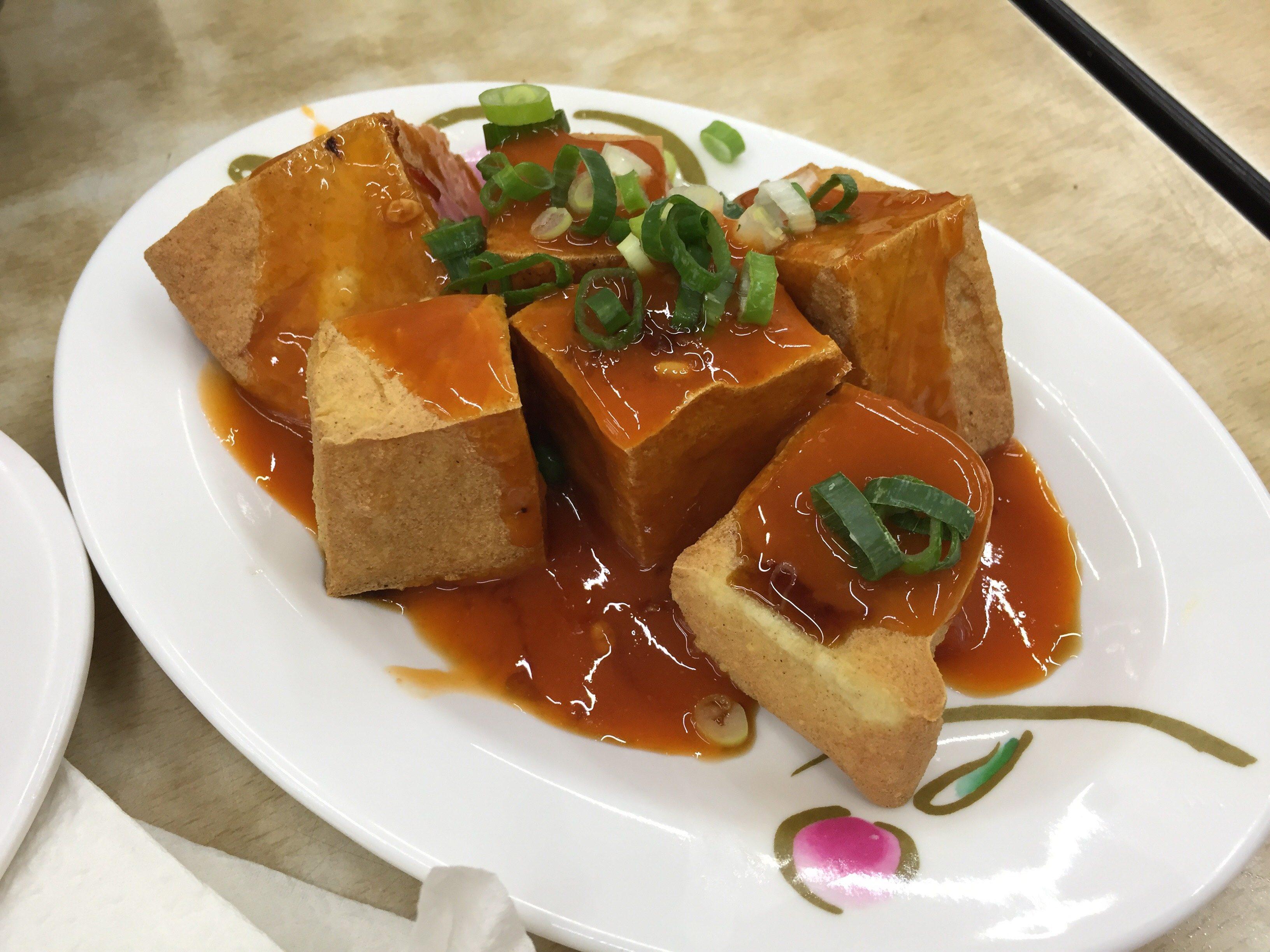 國賓鹹粥 炸豆腐
