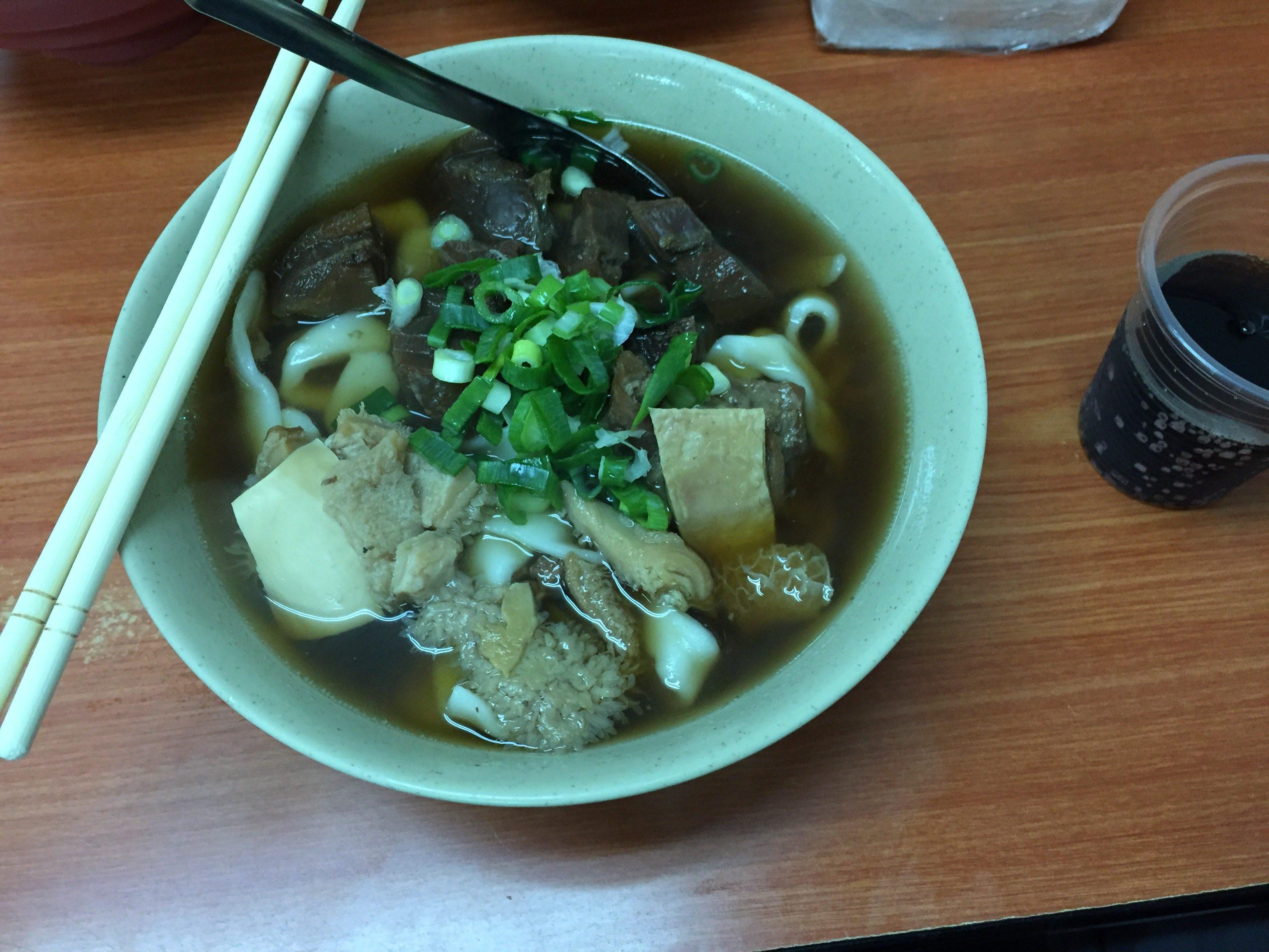 富宏牛肉麺 綜合麺