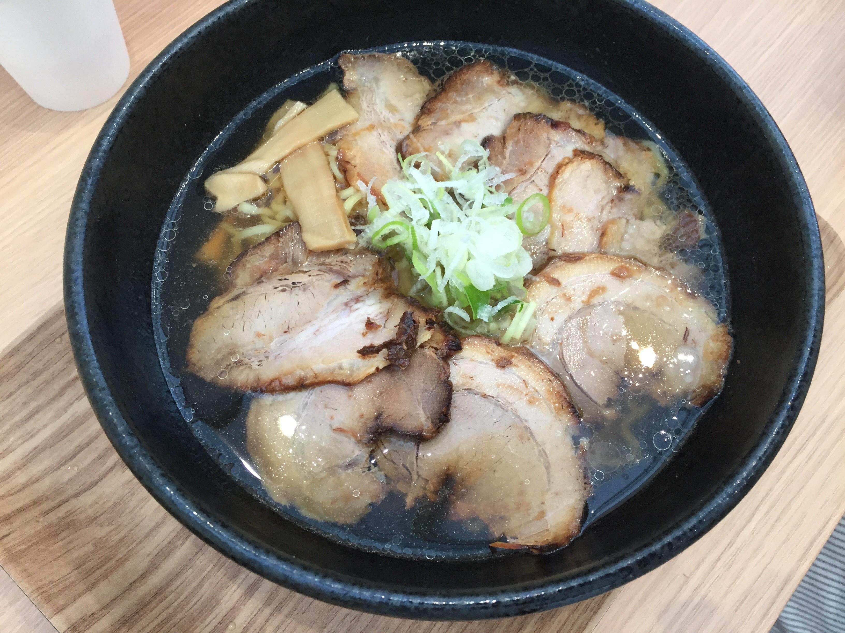 道の駅 めぐみ白山 チャーシュー麺