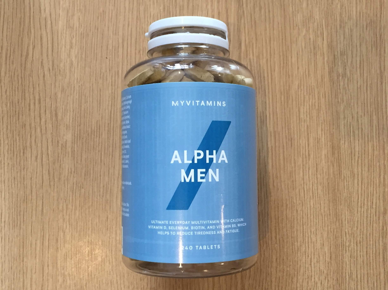 マイプロテイン マルチビタミン アルファメン