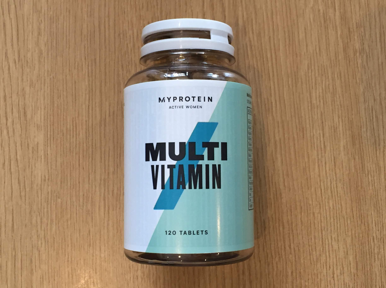 マイプロテイン マルチビタミン